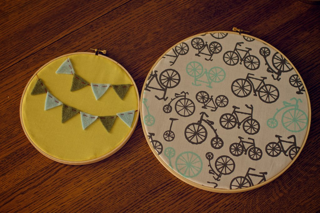 Fabric Hoops 8