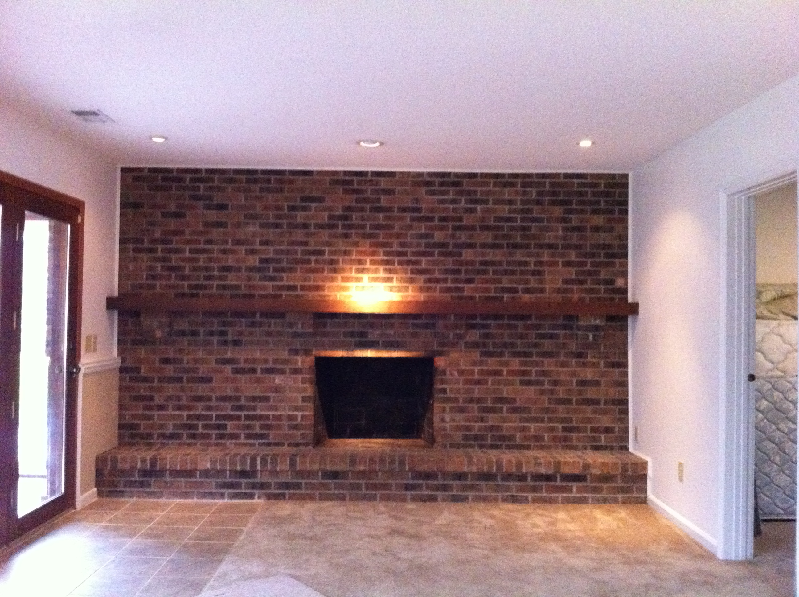 Our Diy Fireplace Facelift Mindy Merenghi