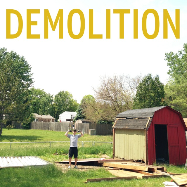 Shed Demolition & Garden Bed Creation